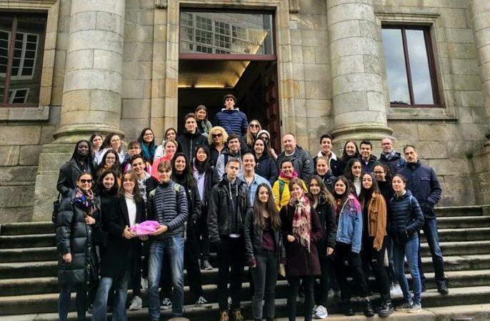 """Εrasmus+: το 1ο ΓΕΛ Ρόδου στο Βίγο της Ισπανίας στα πλαίσια του ευρωπαϊκού προγράμματος Εrasmus+ """"Educating citizens""""."""