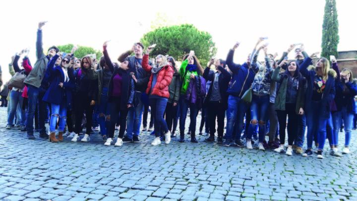 Συμμετοχή του Βενετοκλείου σε εκπαιδευτική συνάντηση στην πόλη Φερεντίνο της Ιταλίας στο πλαίσιο προγράμματος  Erasmus+.
