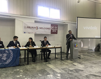 4o Πανελλήνιο Μαθητικό  Συνέδριο Προσομοίωσης Ηνωμένων Εθνών του Πρότυπου Γενικού Λυκείου Αναβρύτων – σχολικό έτος 2020-2021